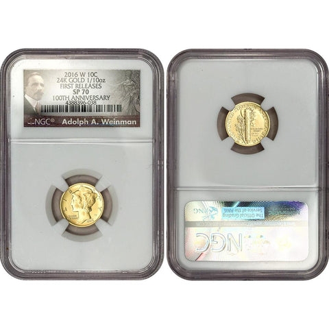 - Roosevelt Dime Full Torch NGC MS67 FT Early Releases 2016-D 10c