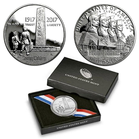 2017-S Boys Town Centennial Proof Half Dollar - Gem Proof in OGP w/ COA