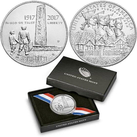 2017-D Boys Town Centennial Uncirculated Half Dollar - Gem Unc in OGP w/ COA