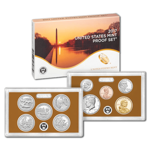 2017-S U.S. Mint Clad Proof Sets