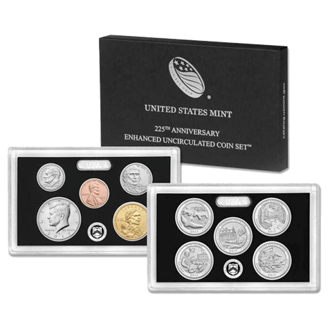 2017-S U.S. 225th Anniversary Enhanced Uncirculated Coin Sets
