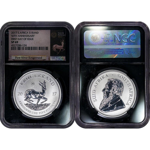 2018-P $1 Silver Breast Cancer Awareness PCGS MS70 First Day of Issue FDOI