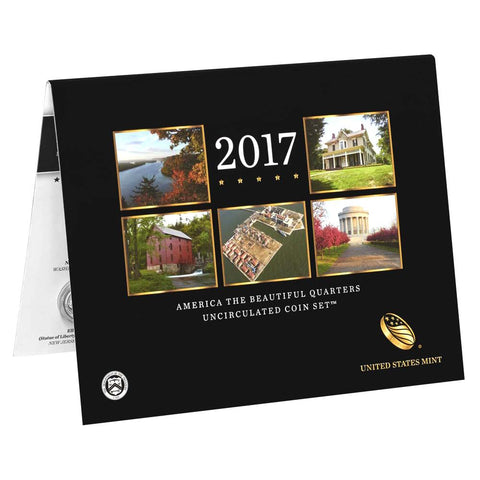2017 America the Beautiful Quarter Uncirculated Coin Set