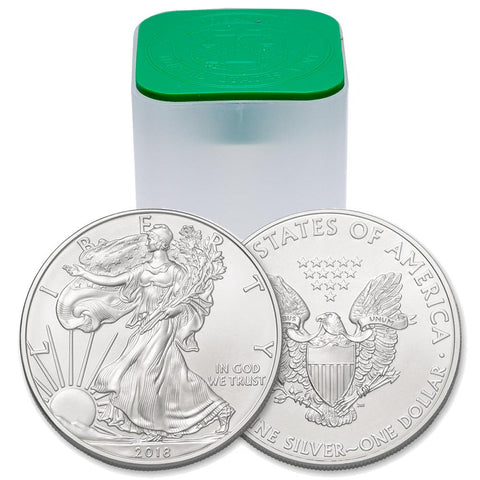 2018 American Silver Eagle Special - By The Coin or By The Roll