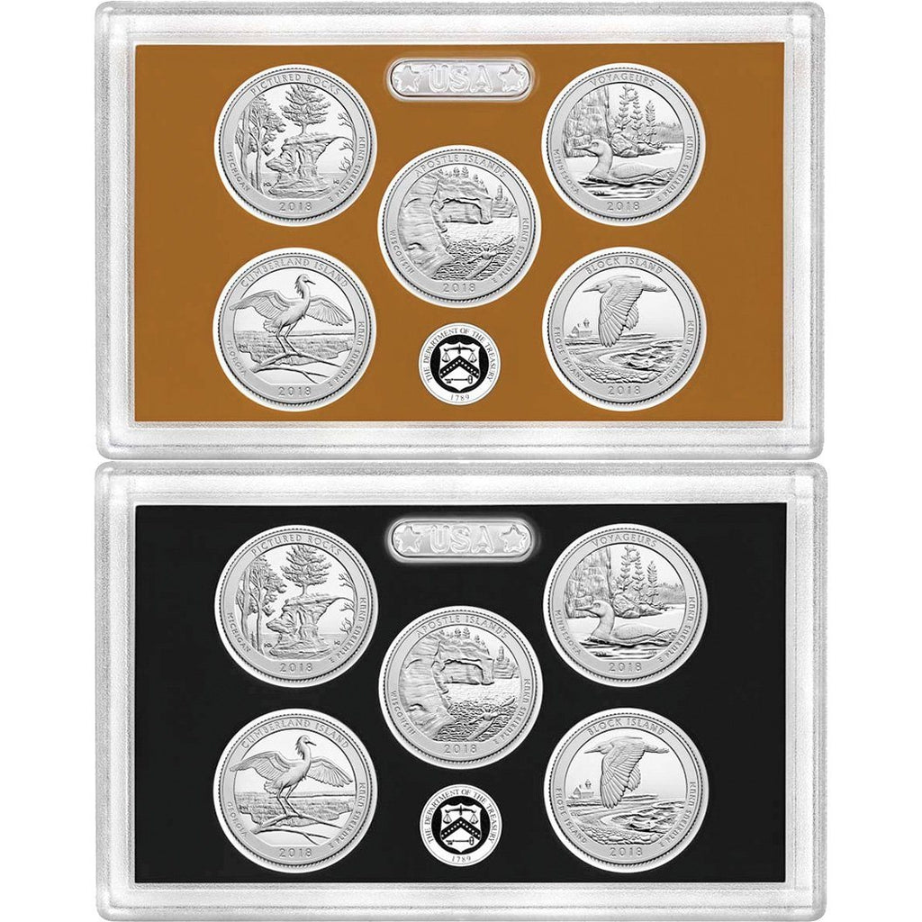 2018 S Pictured Rocks Mint Silver and Clad Proof National Parks from Proof Set