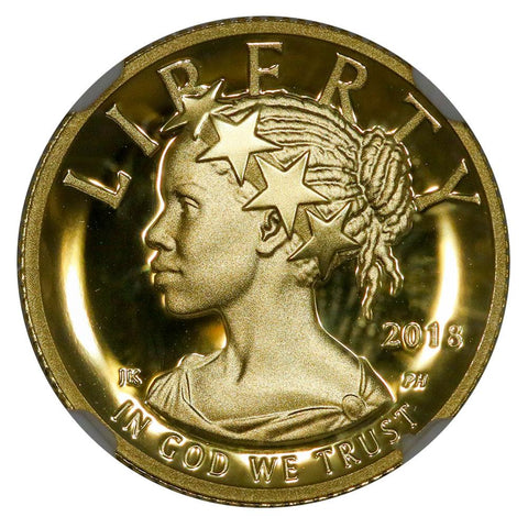 2018-W American Liberty One-Tenth Ounce Gold Proof  - NGC PF 70 UCAM