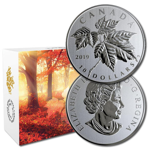 2009 Canada Red Maple Leaves 50 Cent Coin 1//25 Oz .9999 Pure Gold RCM New