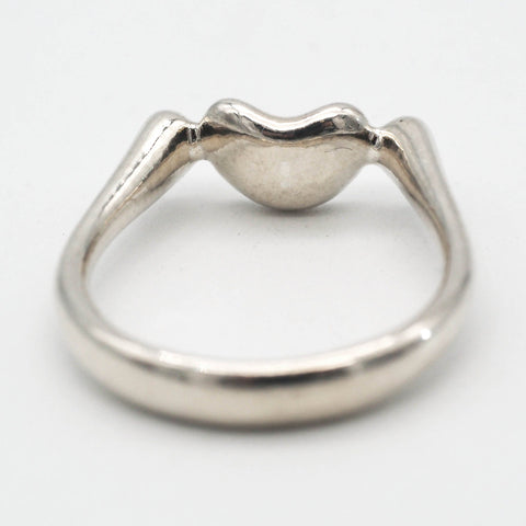 Tiffany & Co. Sterling Silver Peretti Bean Ring