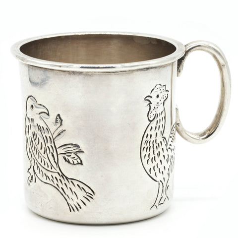 Sanborns Mexico Sterling Silver Baby Cup