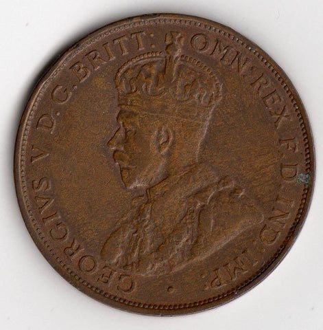 1934 Australia Penny KM.23 - About Uncirculated