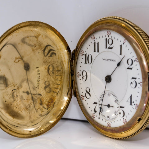 1906 Waltham 25Y GF Pocket Watch - 21 Jewel, Model 1899, Grade Crescent St., Size 16s