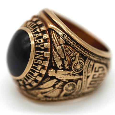 Class of 1965 Virginia Military Institute VMI 10K Gold Ring