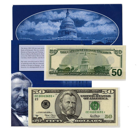 Series 2001 Richmond Single Star Note - Gem Uncirculated