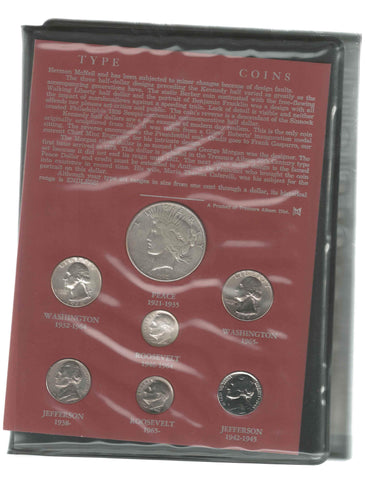 23-Coin 20th Century Type Set - Very Good to PQ Brilliant Uncirculated
