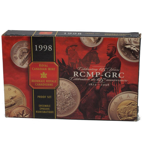 1998 Canadian RCMP-GRC Anniversary Proof Set in OGP - Gem Proof