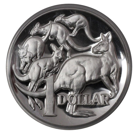 2014 $1 Australian Silver Proof High Relief Coin
