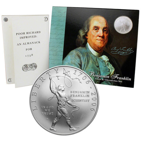 2006 Benjamin J. Franklin Coin and Chronicles Set