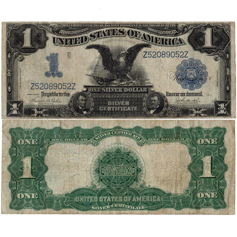 1899 Black Eagle $1 Silver Certificate Fr.233 - Choice Fine