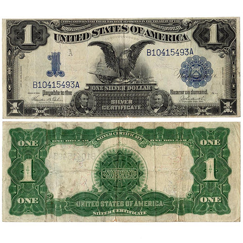 1899 Black Eagle $1 Silver Certificate Fr.233 - Very Fine