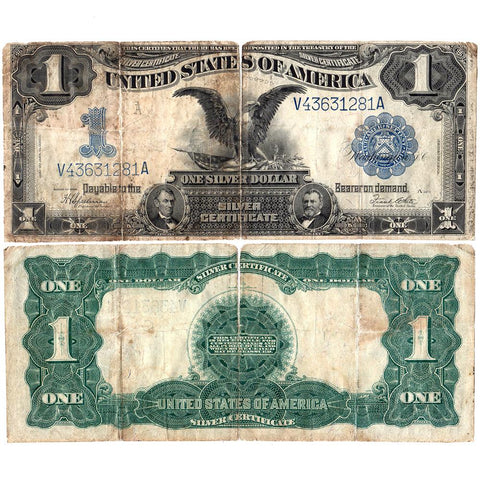 1899 Black Eagle $1 Silver Certificate Fr.236 - Good