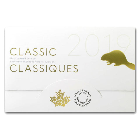 2019 6 Coin Classic Canadian Coin Set