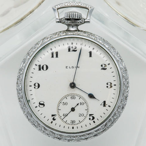 1918 Elgin Pocket Watch - Grade 315, Model 3, 15 Jewel, Size 12s