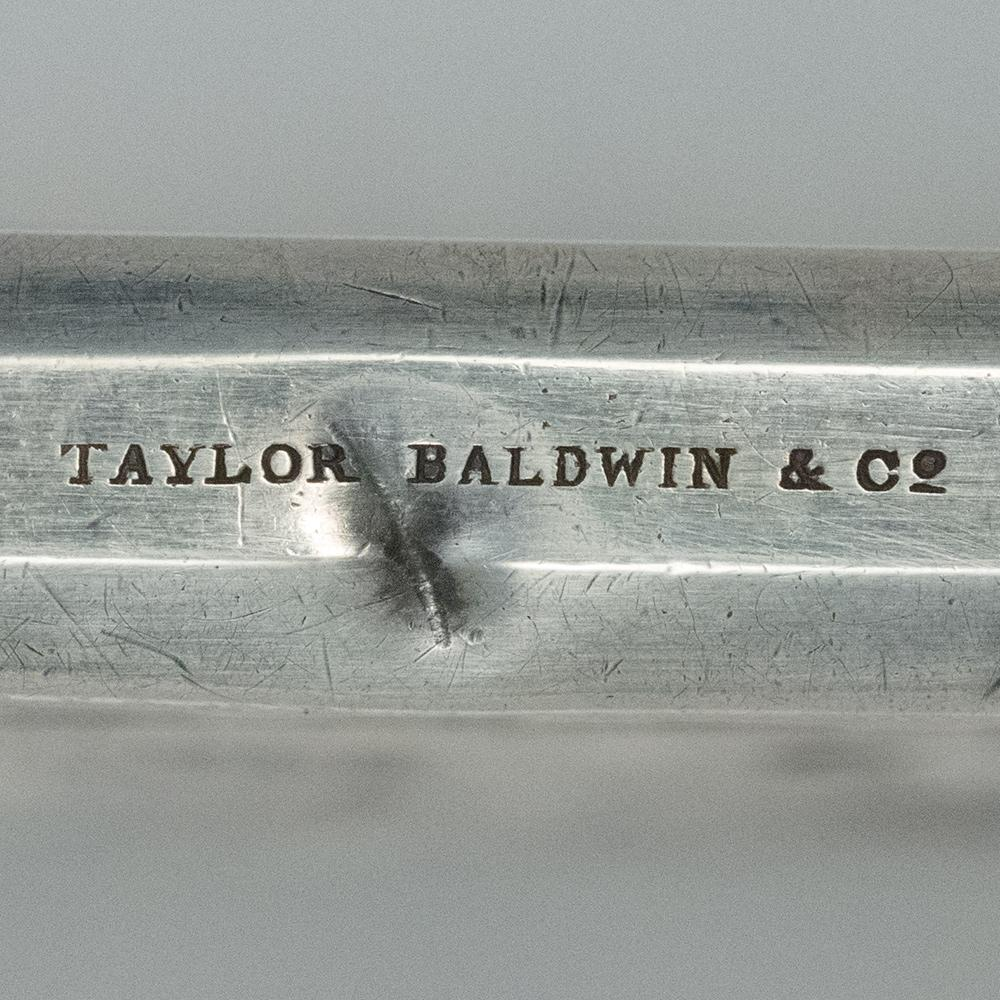 Moritz Furst Early 19th Century Sterling Business Card Holder, Taylor