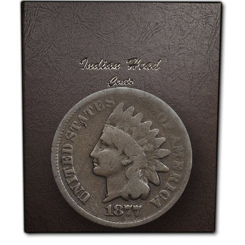 1857 to 1909 Indian Head Cent Collection