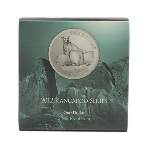2012 Kangaroo Silver Proof Dollar - Gem Proof in OGP
