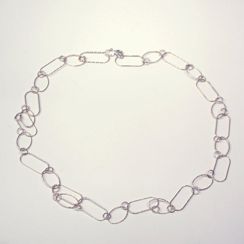Silpada Sterling Silver Long Link Necklace