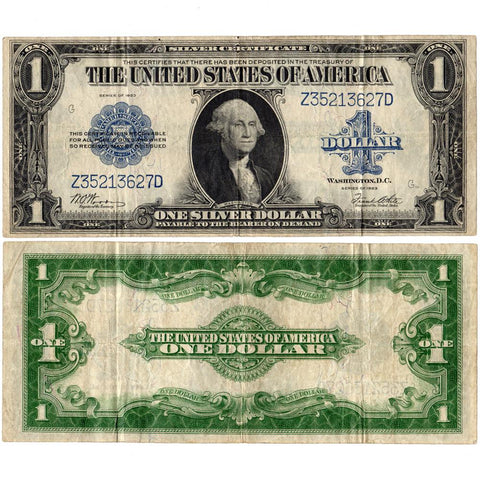 1923 $1 Large-Size Silver Certificate Fr. 238 ~ Very Fine