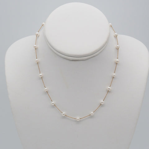 10K Freshwater Pearl Necklace