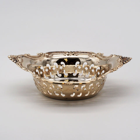 Gorham Sterling Shell & Scroll Nut Dish
