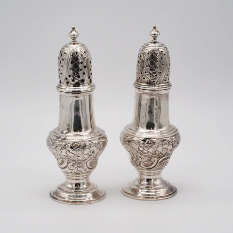 1915 L.F & Son Sterling Silver Salt & Pepper Shakers