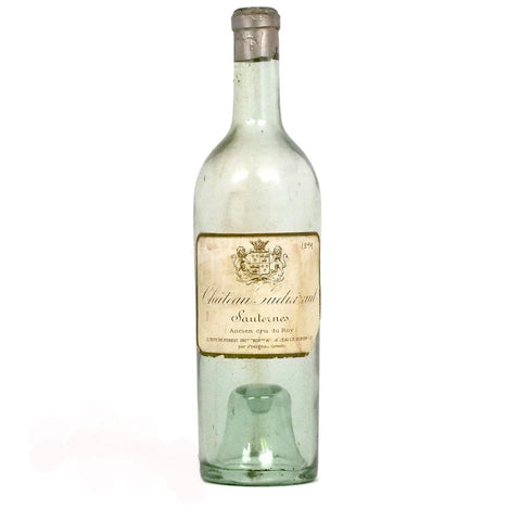 1899 Chateau Suduiraut Sauternes Bottle