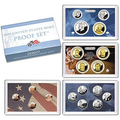 2009-S U.S Territories 18 Coin Clad Proof Set, In Original Mint Box with COA