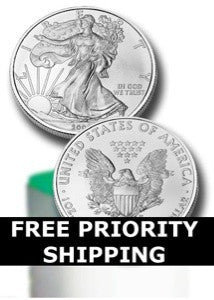 2008 American Silver Eagle Mint Roll of 20