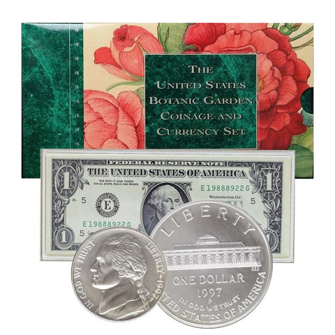 The United States Botanic Gardens Coinage & Currency Set
