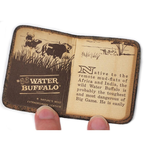 Vintage #66 Water Buffalo Mini Formula Book