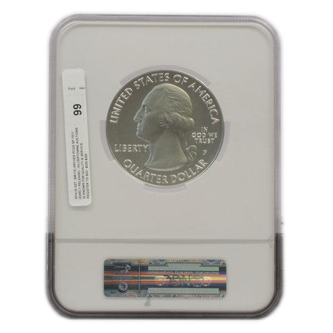 2014 P 5oz Silver Arches National Parks - NGC SP70