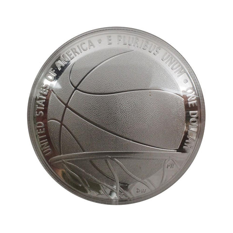 2020 Basketball Hall of Fame Commemorative Silver Dollar - Gem Proof in OGP w/ COA