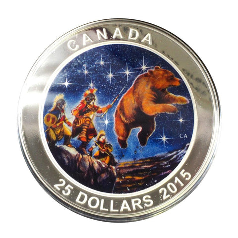"2015 $25 Canadian Proof Coin ""Star Charts: The Great Ascent"" - Gem Proof in OGP"