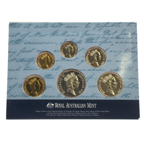 1998 Bass and Flinders Uncirculated 6-Coin Set - PQBU in OGP