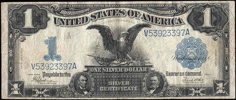 "1899 ""Black Eagle"" $1 Silver Certificates"