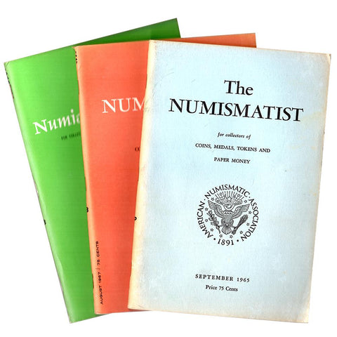 "BONUS! Vintage 1960s ""The Numismatist"" - For Every $500 Spent Per Order"