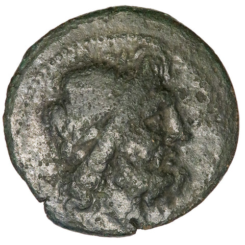 Bruttium, Brettii AE Reduced Uncia c. 215-205 B.C. ~ Very Good+