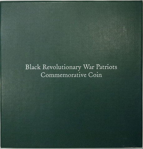 1998 Black Revolutionary War Patriots Silver Proof & Stamps Commemorative Set