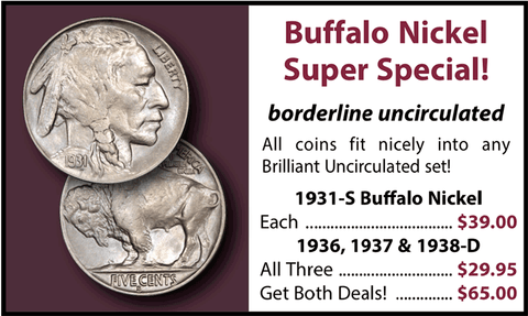 Buffalo Nickel Super Special ~ Borderline Uncirculated