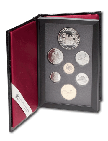Canadian Double Dollar Proof Sets by Date