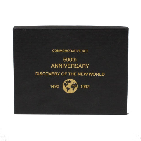"1992 500th Anniversary ""Discovery of the New World"" Commemorative Set - PQBU in OGP"